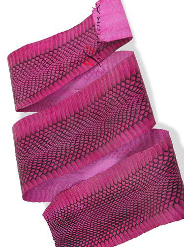 Snakeskins Implora Pink Cobra Snake Skin Hide