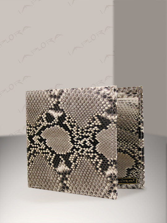 Snakeskins Implora Natural Python Wallet w/ID