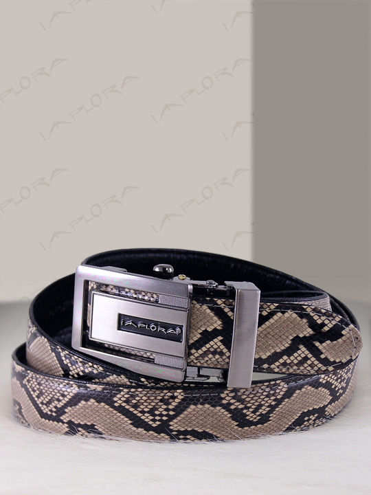 Snakeskins Implora Natural Python Snake Skin Belt