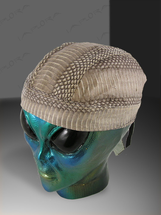 Snakeskins Natural Cobra Snakeskin Doorag Head Wrap