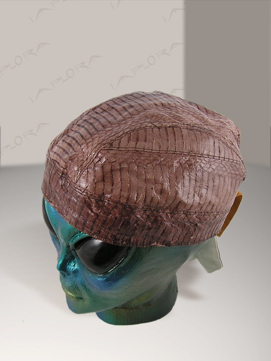 Snakeskins Brown Cobra Snakeskin Doorag Head Wrap