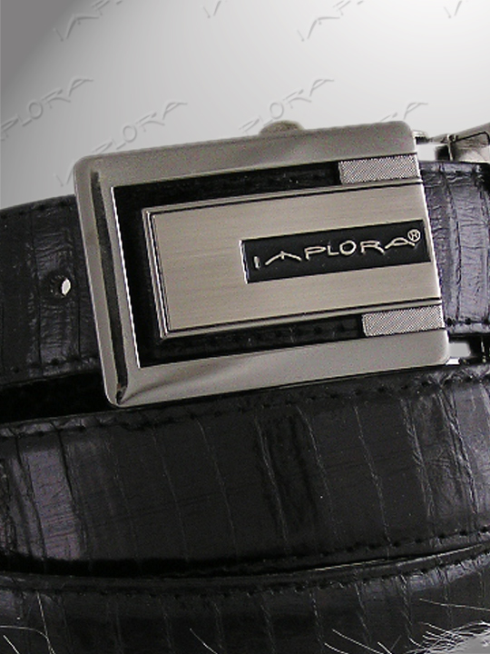 Implora Black Cobra Snake Skin Belt 2 Designs