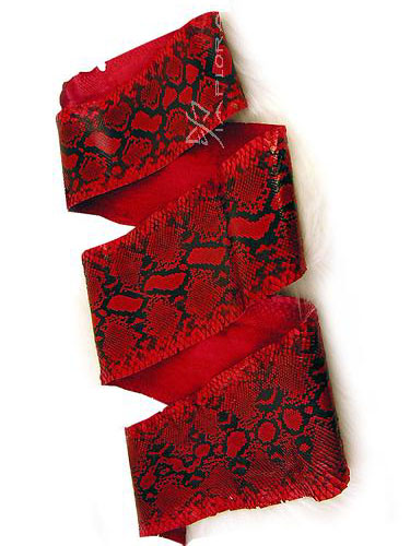 Snakeskins Implora Red Python Snakeskin