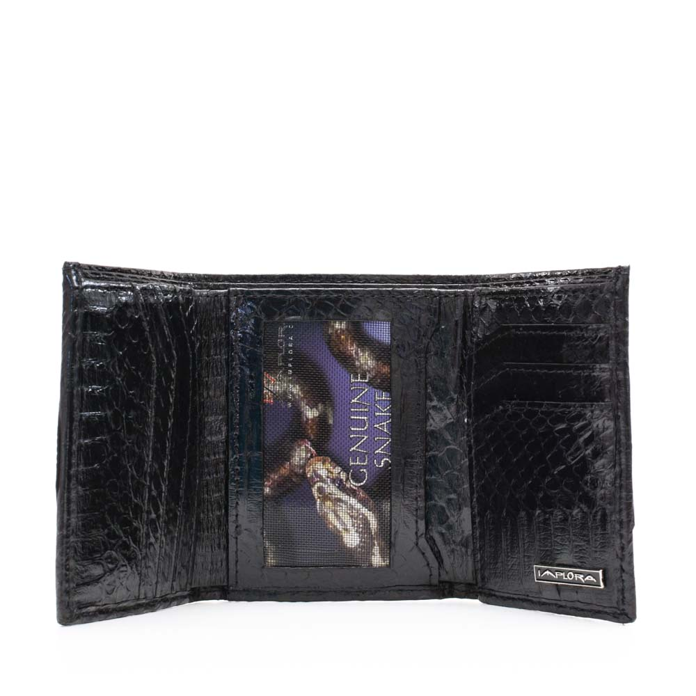 Implora Black Cobra Trifold Wallet