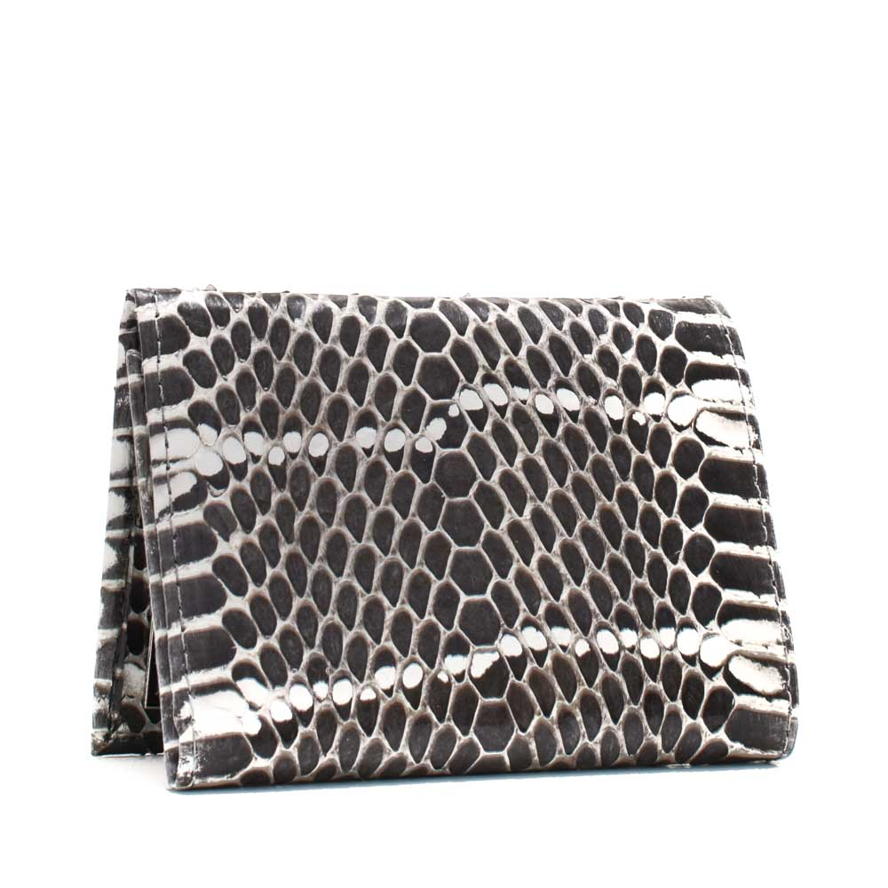 Snakeskins Implora Natural Mangrove Trifold Wallet