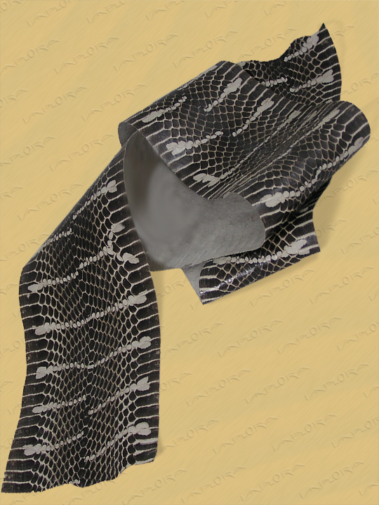 Snakeskins Implora Natural Mangrove Snake Skin Hide