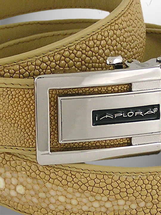 Implora Tan Stingray Leather Belt