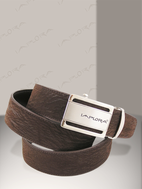 Implora Brown Shark Skin Belt 1.5W