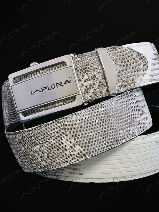 Lizard Skins Implora Natural Salvator Monitor Lizard Belt 1.5W