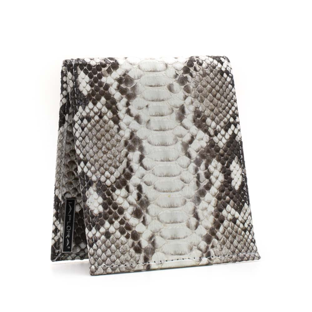 Snakeskins Implora Natural Python Wallet w/ID Belly