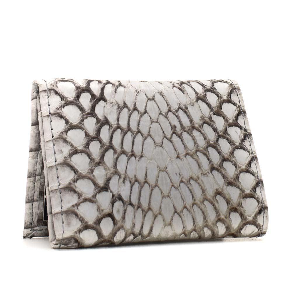 Snakeskins Implora Natural King Cobra Trifold Wallet
