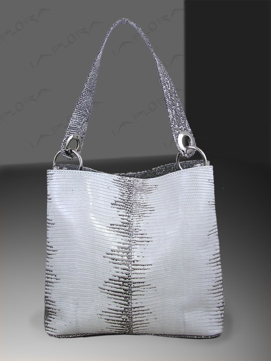 On Sale: Implora Natural Lizard Skin Soho Bag