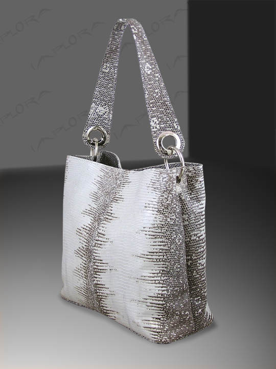 Implora Natural Lizard Skin Soho Bag
