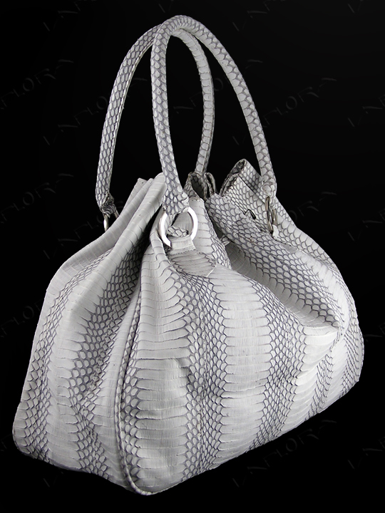 Implora Natural Cobra Hobo Style Bag Large