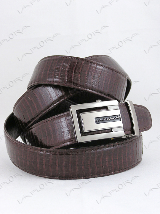 Snakeskins Implora Brown Cobra Snake Skin Belt XXL, Belly