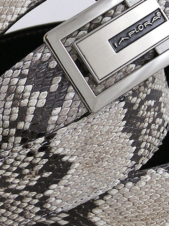 Implora Natural Python Snakeskin Belt XXL