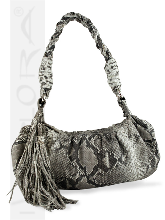 Snakeskins Implora Natural Python Mini Hobo Bag