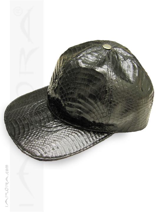 Cobra Snakeskin Hat Black Baseball Cap 96c93f5f734