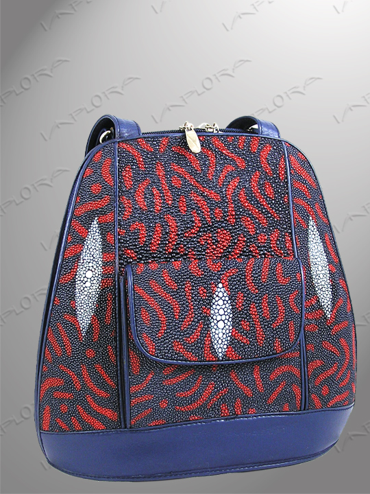 Stingray Leathers Stingray Shoulder Bag abstract design