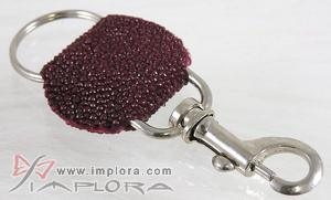 Burgundy Stingray Keyholder